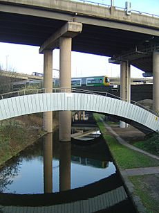 Canal at Gravelly Hill Interchange - 2009-03-19