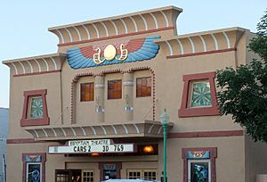 Egyptian theatre exterior