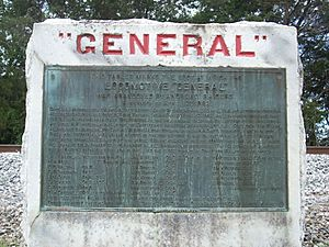 General (Locomotive) Monument, Ringgold (Catoosa County, Georgia)