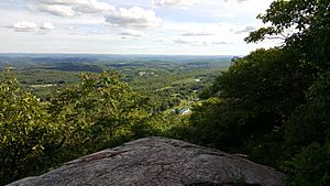 Kittatinny valley seen from sunrise mountain aka kittatinny mountain nj