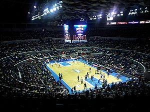 Smart Araneta Coliseum Basketball setup