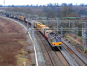 WCML freight train