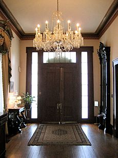 Bragg-Mitchell Mansion Hallway