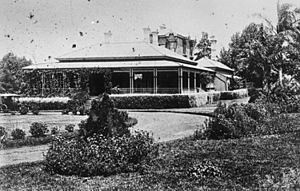 StateLibQld 1 150435 Ascot House in Toowoomba, designed by architect, James Marks, ca. 1876