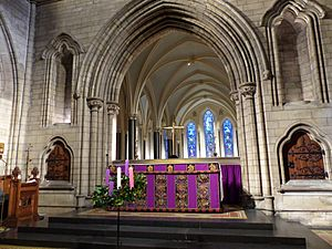 Choir of St. Patrick's Cathedral, Dublin, 2016 07