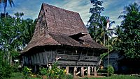 House in Nias North Sumatra