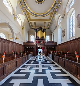 St Vedast Foster Lane Church Interior 2, London, UK - Diliff