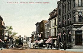 State Street from Genesee Street, Auburn, NY
