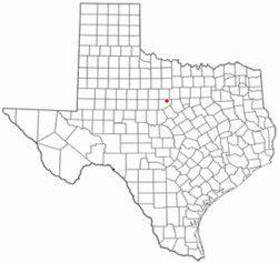 Location of Ranger, Texas