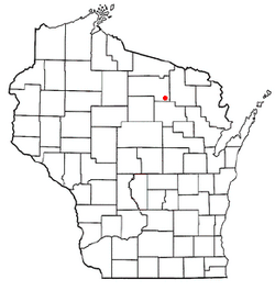 Location of Schoepke, Wisconsin