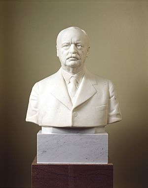 Charles Curtis bust