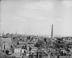 Charlestown massachusetts and bunker hill between 1890 and 1910