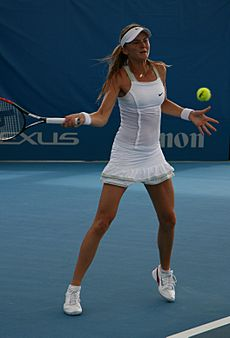 Daniela Hantuchova at the 2009 Brisbane International2