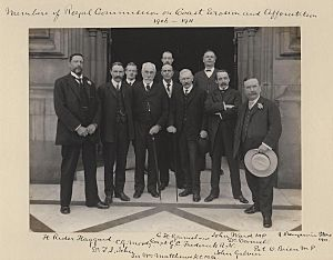 Members of the Royal Commission on Coast Erosion and Afforestation, 1906-1911 by Sir (John) Benjamin Stone