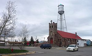 Montana - Browning - Church