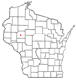 Location of Eagle Point, Wisconsin