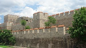 Walls of Constantinople