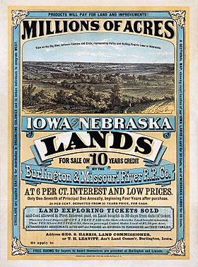 Iowa and Nebraska lands10