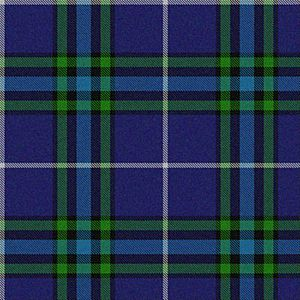 Isle of Harris district tartan