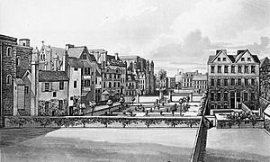 Old Palace Yard, Westminster, 1720
