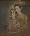 The Painter's Daughters with a Cat, by Thomas Gainsborough 017