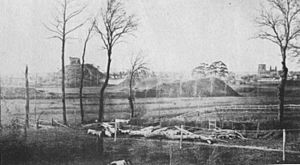 1860 view of Clare Castle