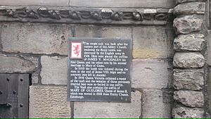 Burial Site of James V, Mary of Guelders and other Royals at Holyrood Abbey