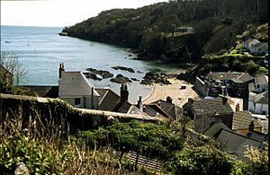 Cawsand village and beach - geograph.org.uk - 116444