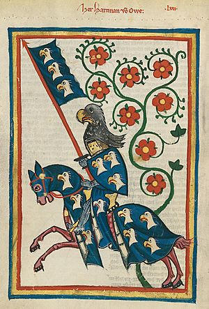 Codex Manesse Hartmann von Aue