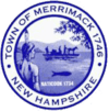 Official seal of Merrimack, New Hampshire