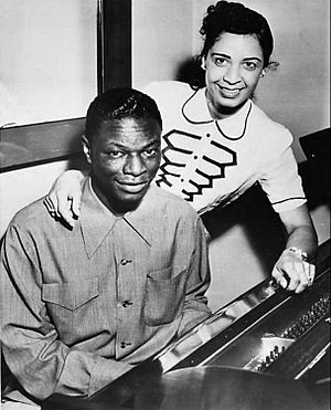Nat and Maria Cole 1951