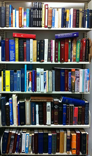 English Bible translations