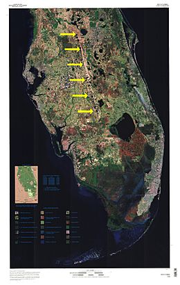Florida Lake Wales Ridge Labeled