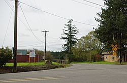 Intersection of Grahams Ferry Road and Clutter Road at Mulloy
