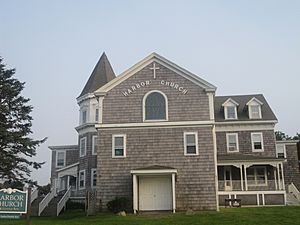 Historic Harbor Church at Block Island IMG 1070