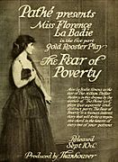 The Fear of Poverty