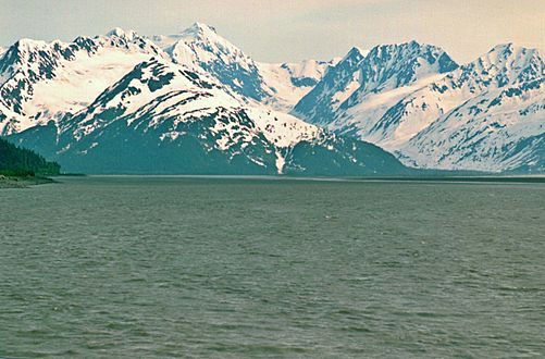 Turnagain Arm Carpathian Peak Alaska