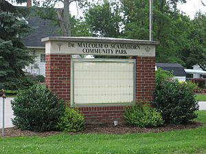 Dr. Malcolm O. Scamahorn Community Park (Pittsboro, Indiana - 2009)