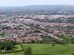 Cheltenham from Leckhampton Hill