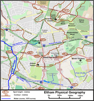 Eltham physical geography