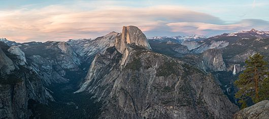Glacier Point at Sunset, Yosemite NP, CA, US - Diliff