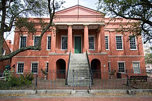 Portsmouth Courthouse, former Norfolk County Courthouse, in Olde Towne Portsmouth, Virginia
