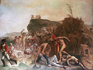 Zoffany Death of Captain Cook