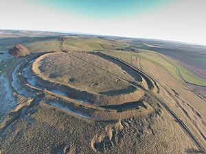 Barbury Hill Iron Age Fort