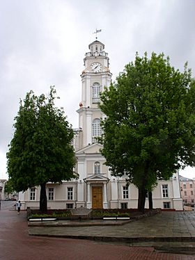 Belarus-Vitsebsk-City Hall-1