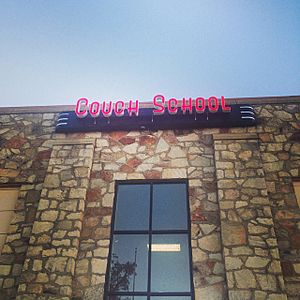 Couch School Sign