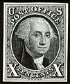 George Washington 1847 issue