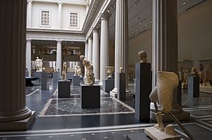 Photograph of the New Roman Gallery at the Metropolitan—New York City