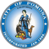 Official seal of Pomona, California