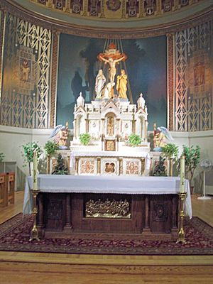 St. Casimir Church, South Bend Indiana, main altar